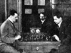 Mec sa Kapablankom 1919